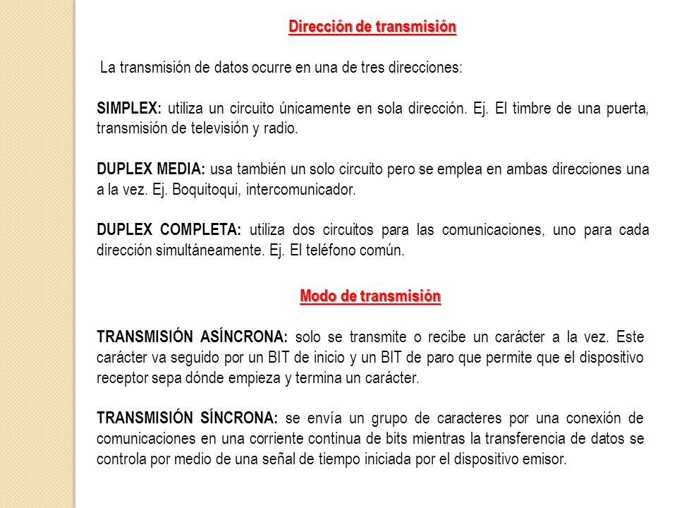 Dirección de transmisión