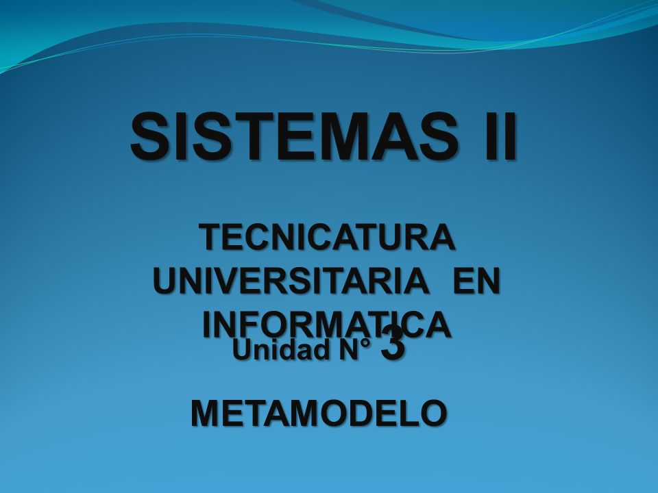 TECNICATURA UNIVERSITARIA EN INFORMATICA