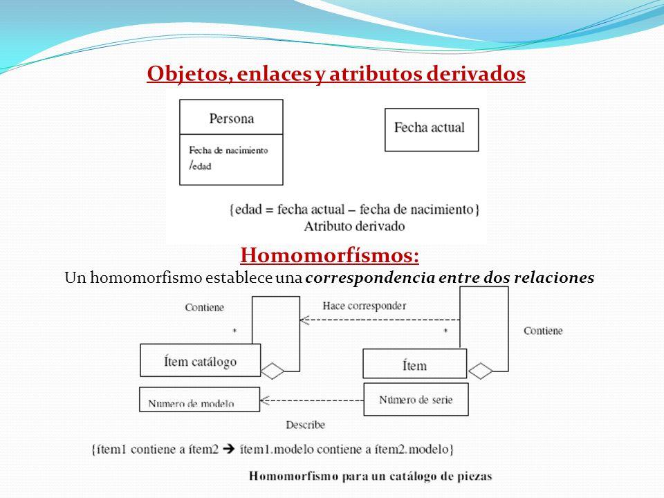 Un homomorfismo establece una correspondencia entre dos relaciones