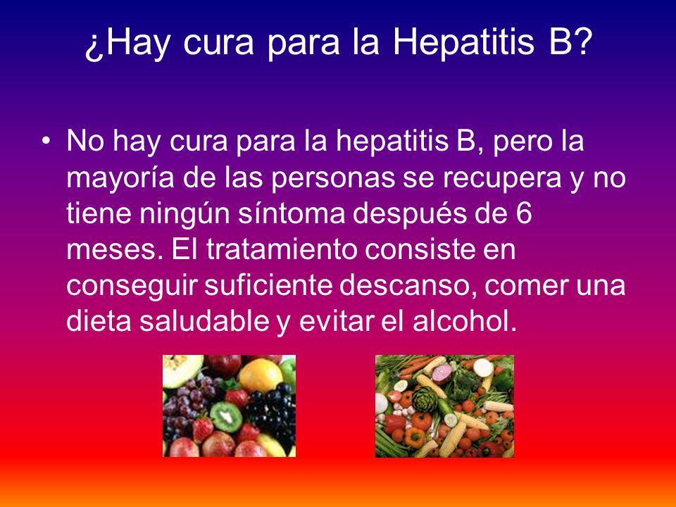 ¿Hay cura para la Hepatitis B