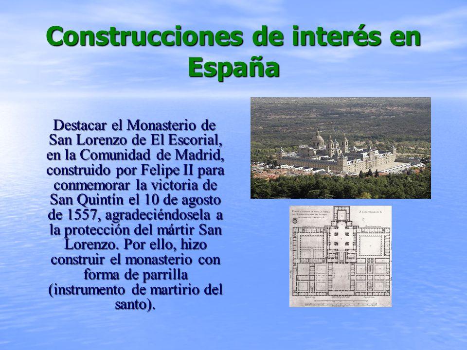 Construcciones de interés en España