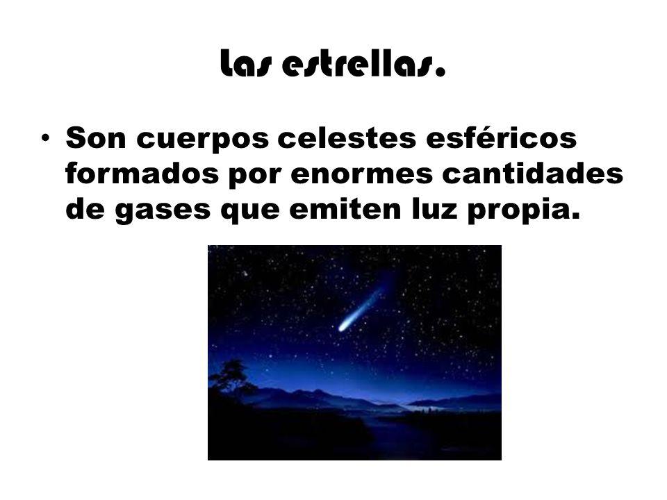 Las estrellas.