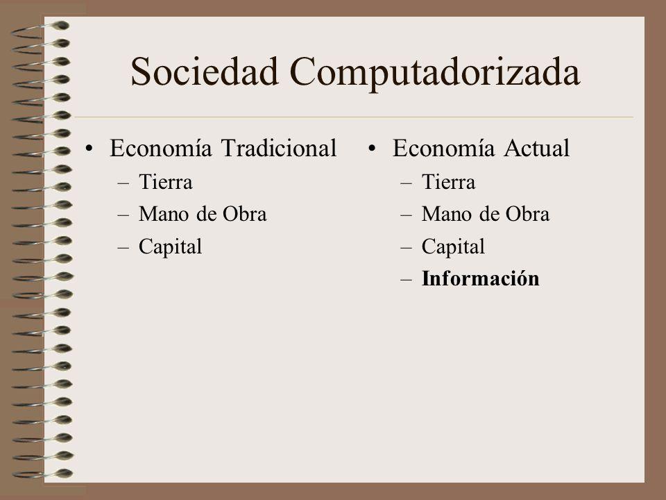 Sociedad Computadorizada