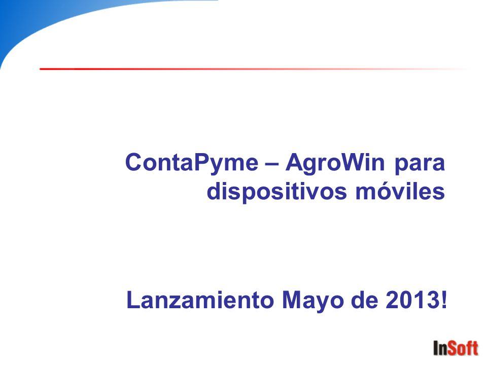 ContaPyme – AgroWin para dispositivos móviles