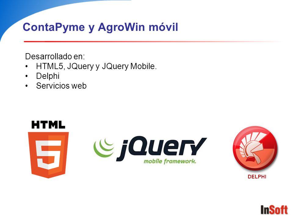 ContaPyme y AgroWin móvil
