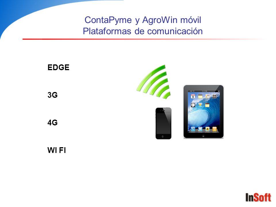 ContaPyme y AgroWin móvil Plataformas de comunicación