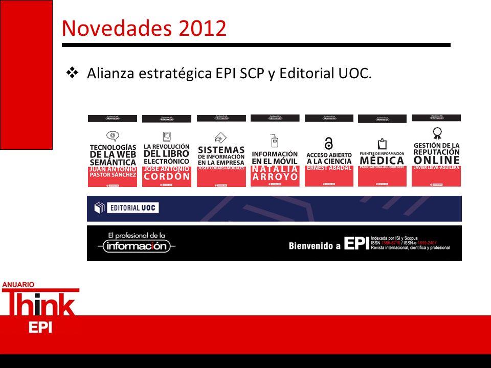 Alianza estratégica EPI SCP y Editorial UOC.