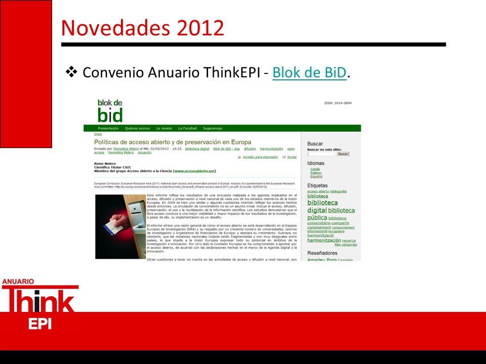 Convenio Anuario ThinkEPI - Blok de BiD.