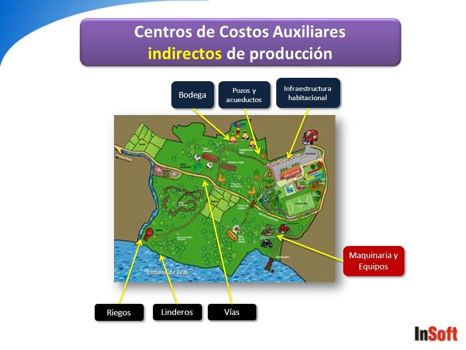 Centros de Costos Auxiliares indirectos de producción