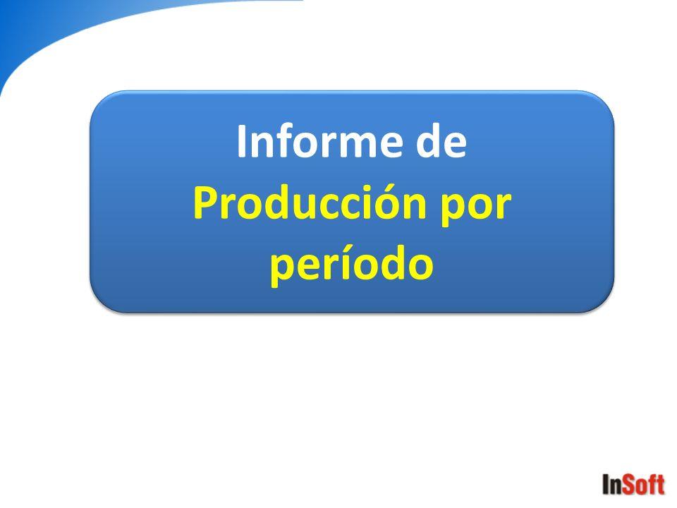 Producción por período