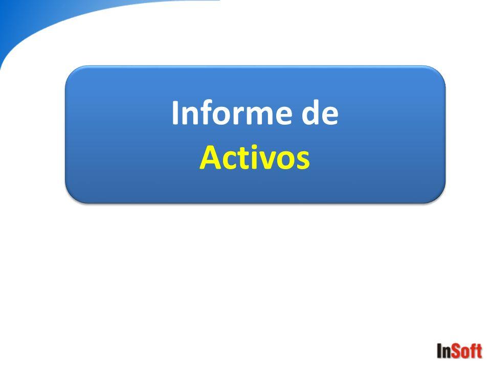 Informe de Activos