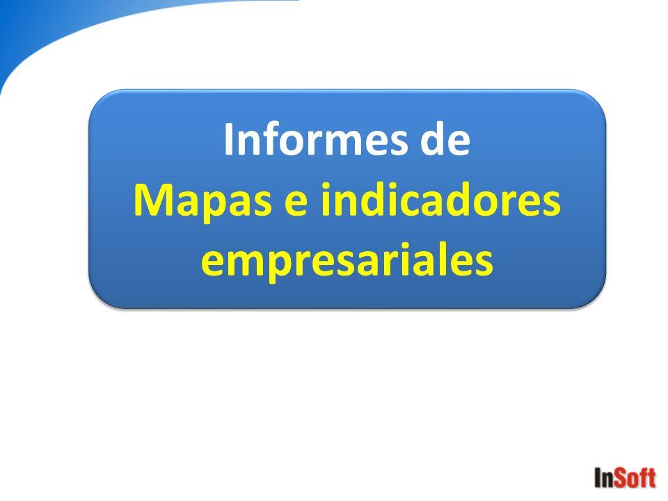 Mapas e indicadores empresariales