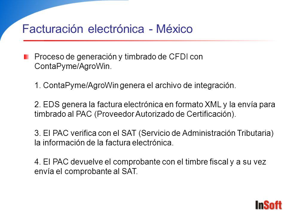 Facturación electrónica - México