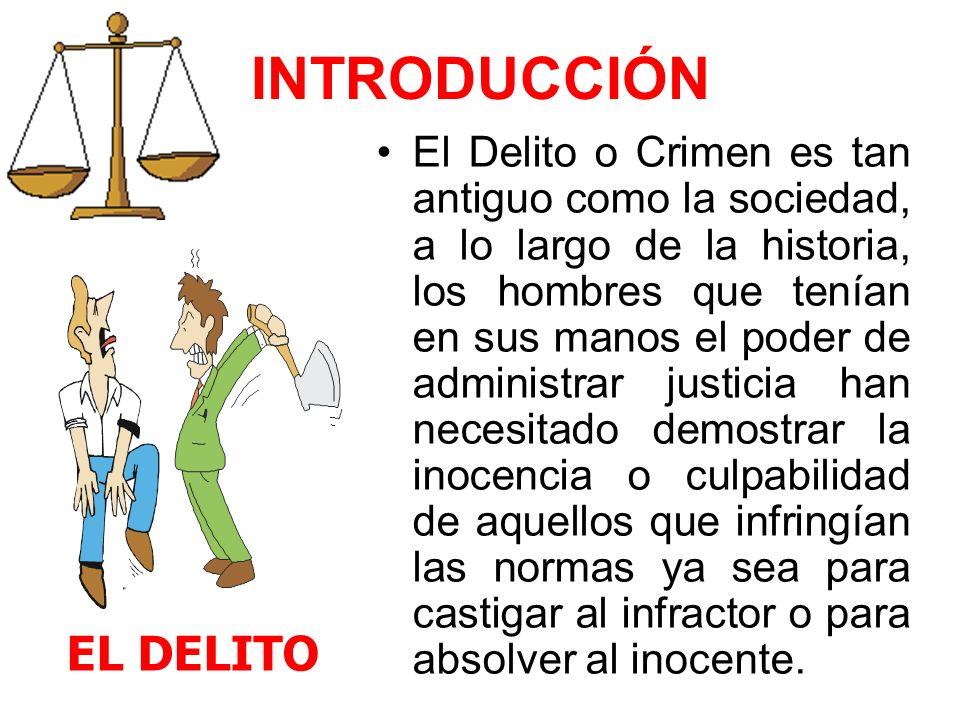 INTRODUCCIÓN EL DELITO