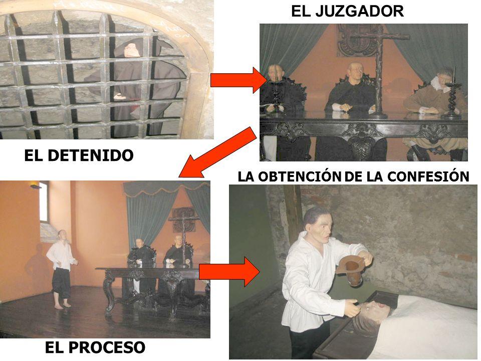 EL JUZGADOR EL DETENIDO LA OBTENCIÓN DE LA CONFESIÓN EL PROCESO