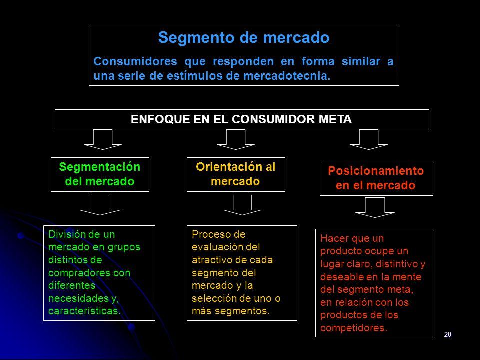 ENFOQUE EN EL CONSUMIDOR META