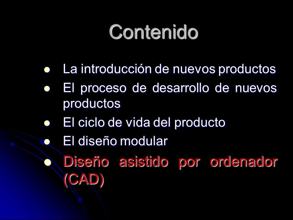 Contenido Diseño asistido por ordenador (CAD)