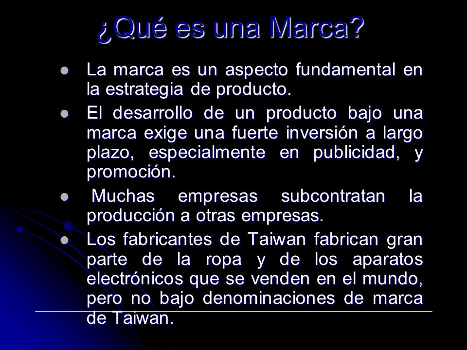 ¿Qué es una Marca La marca es un aspecto fundamental en la estrategia de producto.