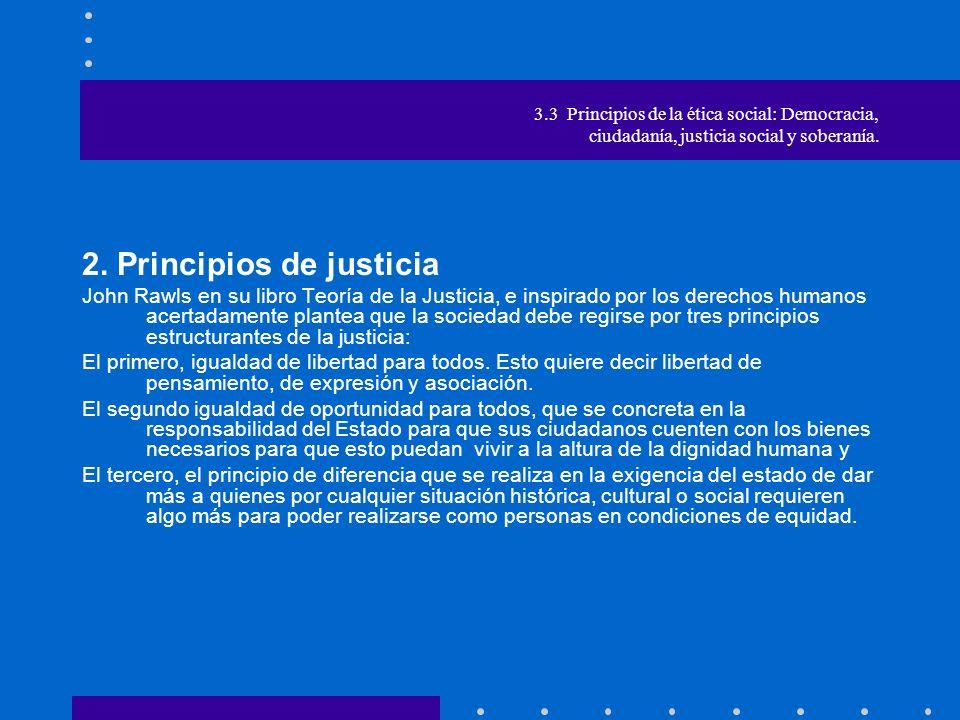 2. Principios de justicia