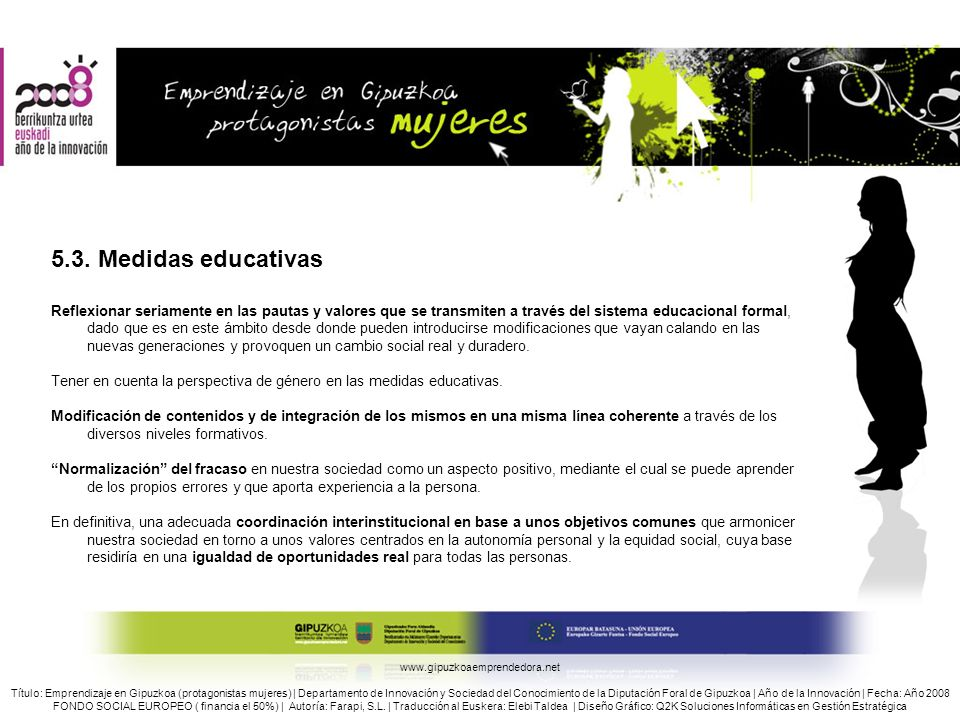 5.3. Medidas educativas