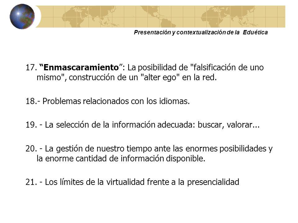 Presentación y contextualización de la Eduética