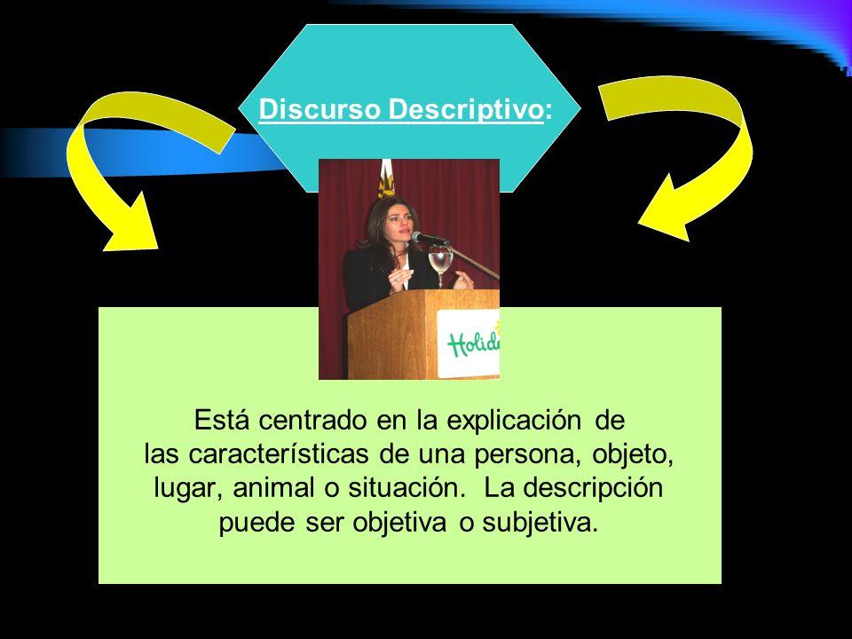 Discurso Descriptivo:
