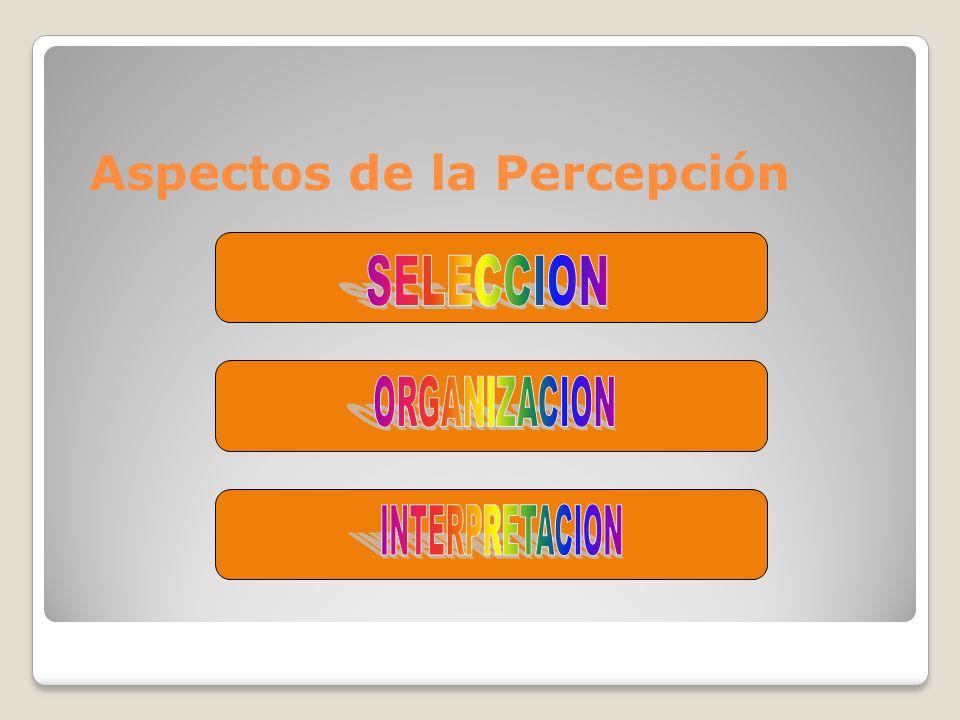 Aspectos de la Percepción