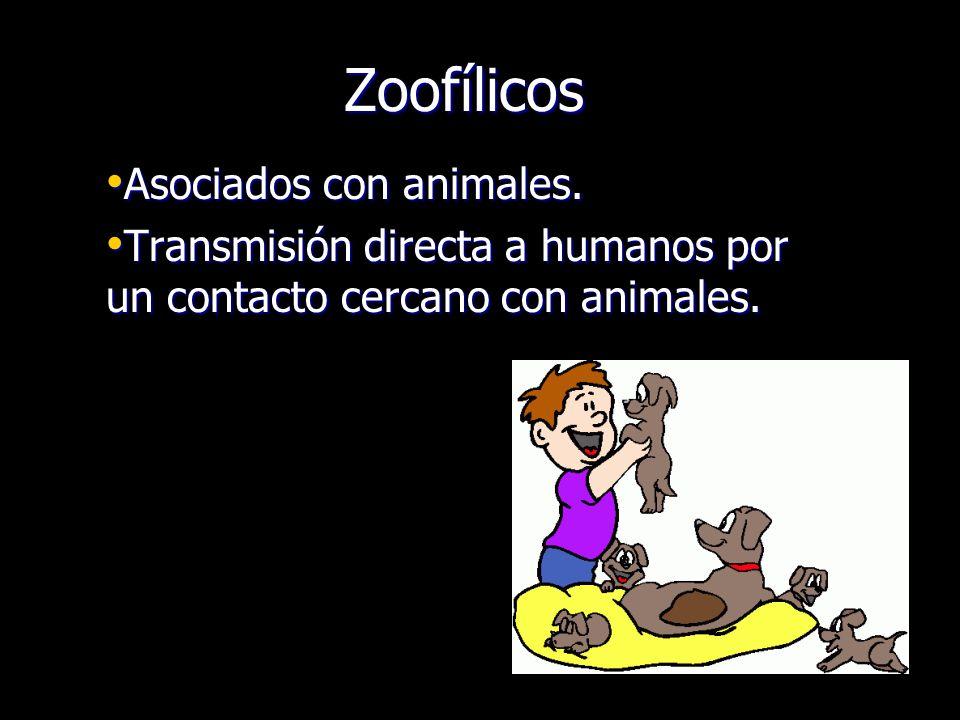Zoofílicos Asociados con animales.