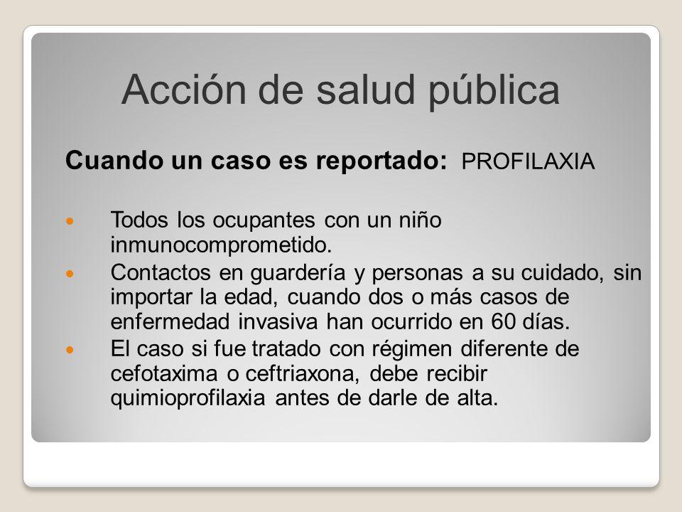 Acción de salud pública