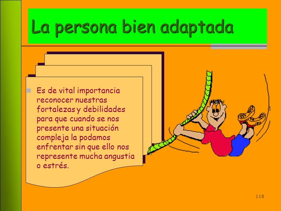 La persona bien adaptada