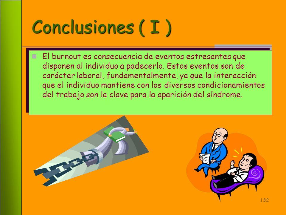 Conclusiones ( I )