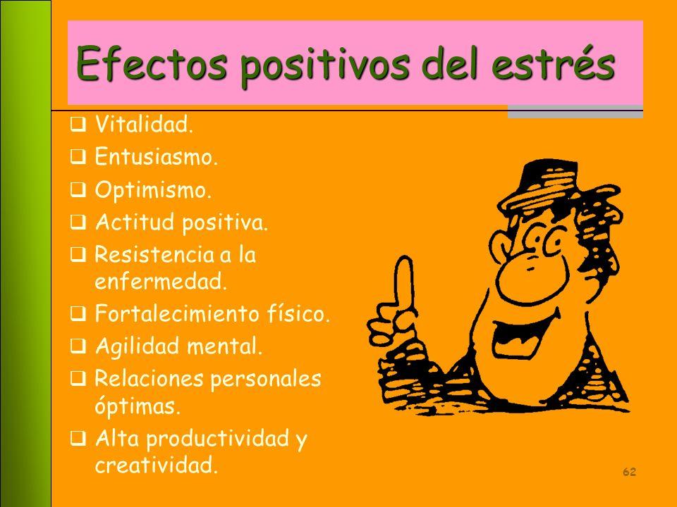 Efectos positivos del estrés