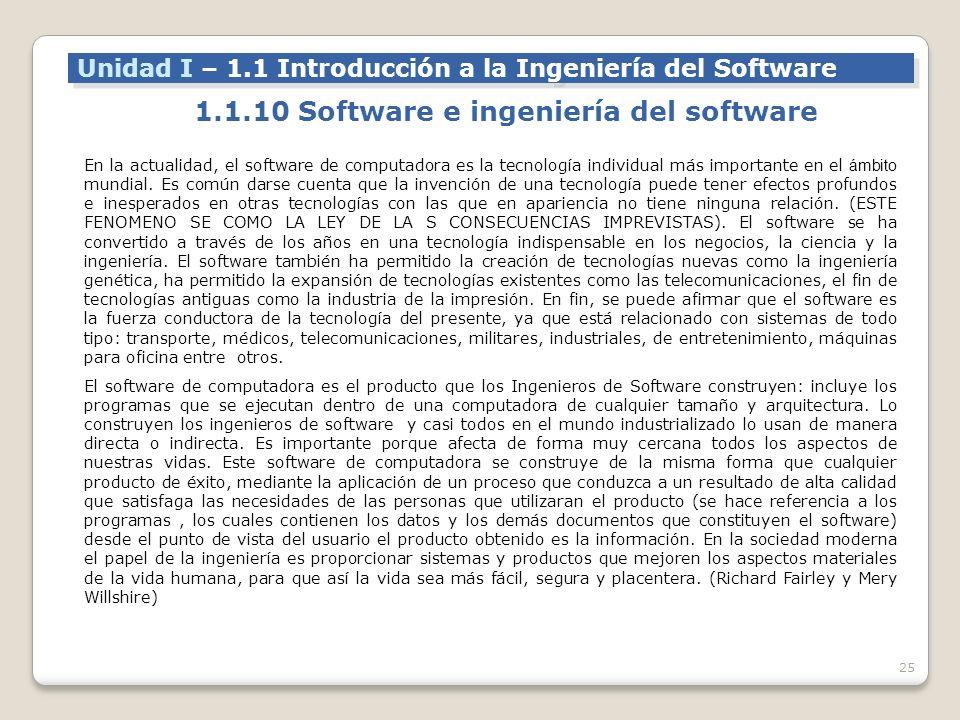 1.1.10 Software e ingeniería del software