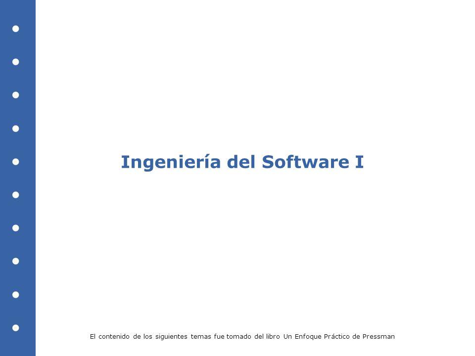 Ingeniería del Software I