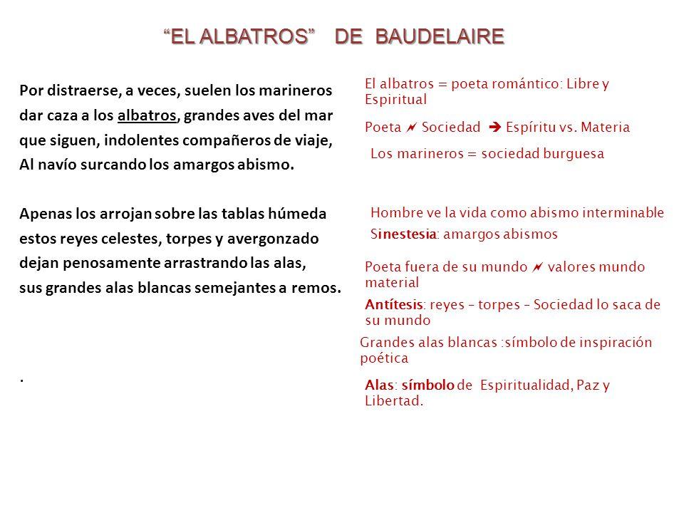 EL ALBATROS DE BAUDELAIRE