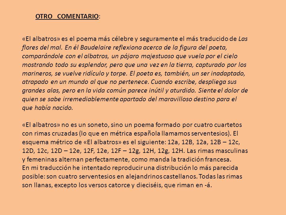 OTRO COMENTARIO: