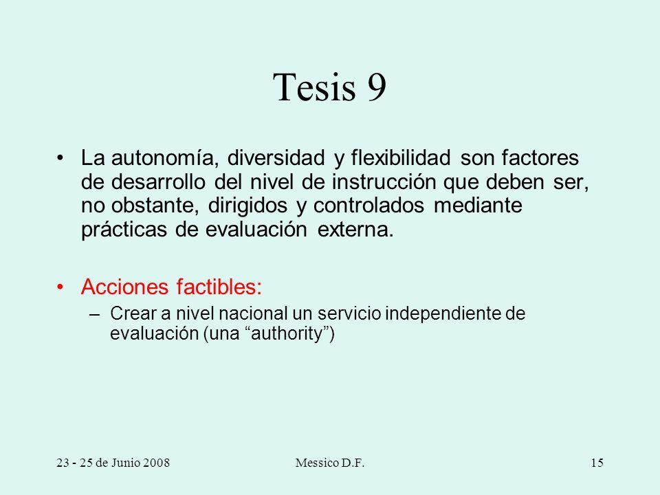 Tesis 9