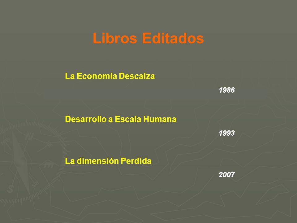 Libros Editados La Economía Descalza Desarrollo a Escala Humana