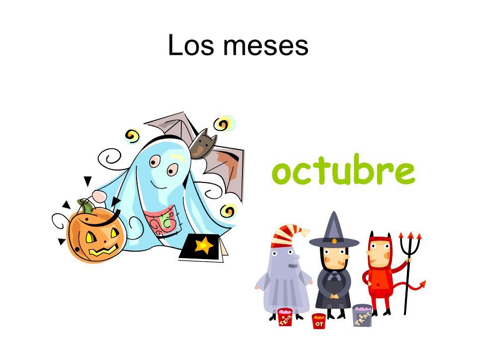 Los meses octubre