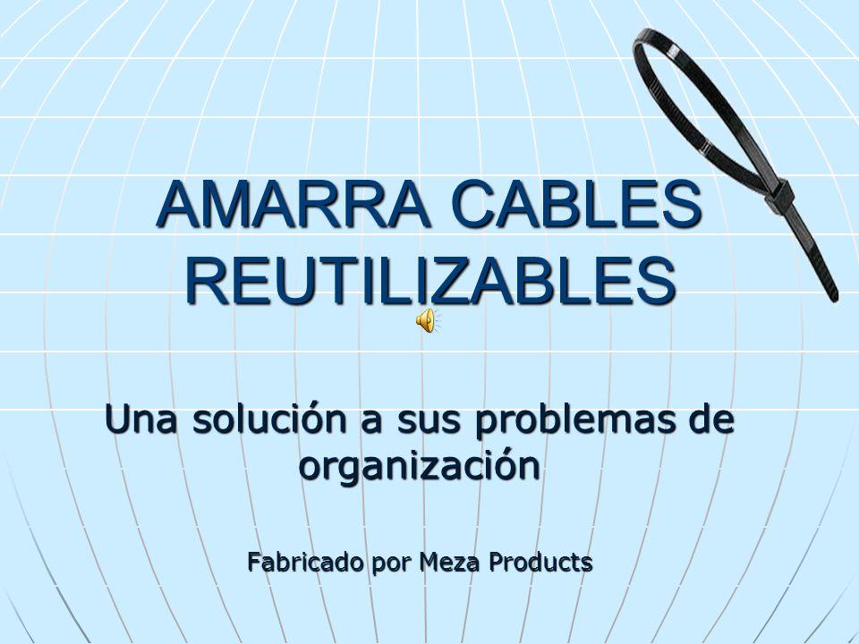 AMARRA CABLES REUTILIZABLES