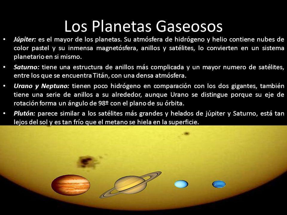 Los Planetas Gaseosos