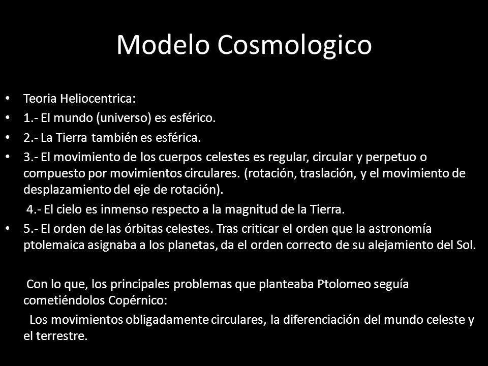 Modelo Cosmologico Teoria Heliocentrica: