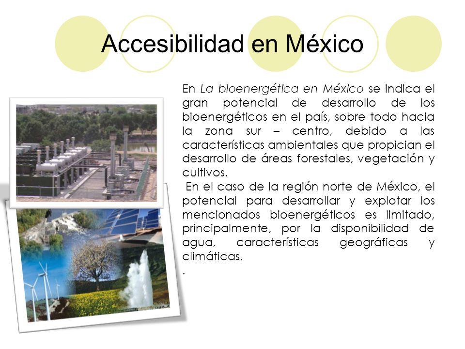 Accesibilidad en México