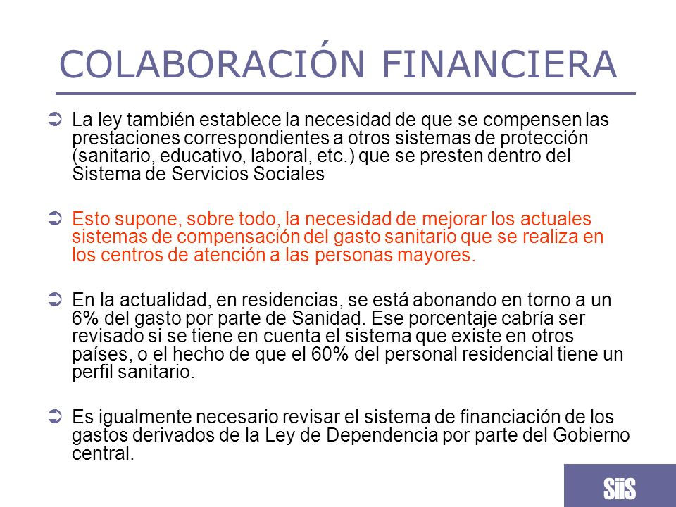 COLABORACIÓN FINANCIERA
