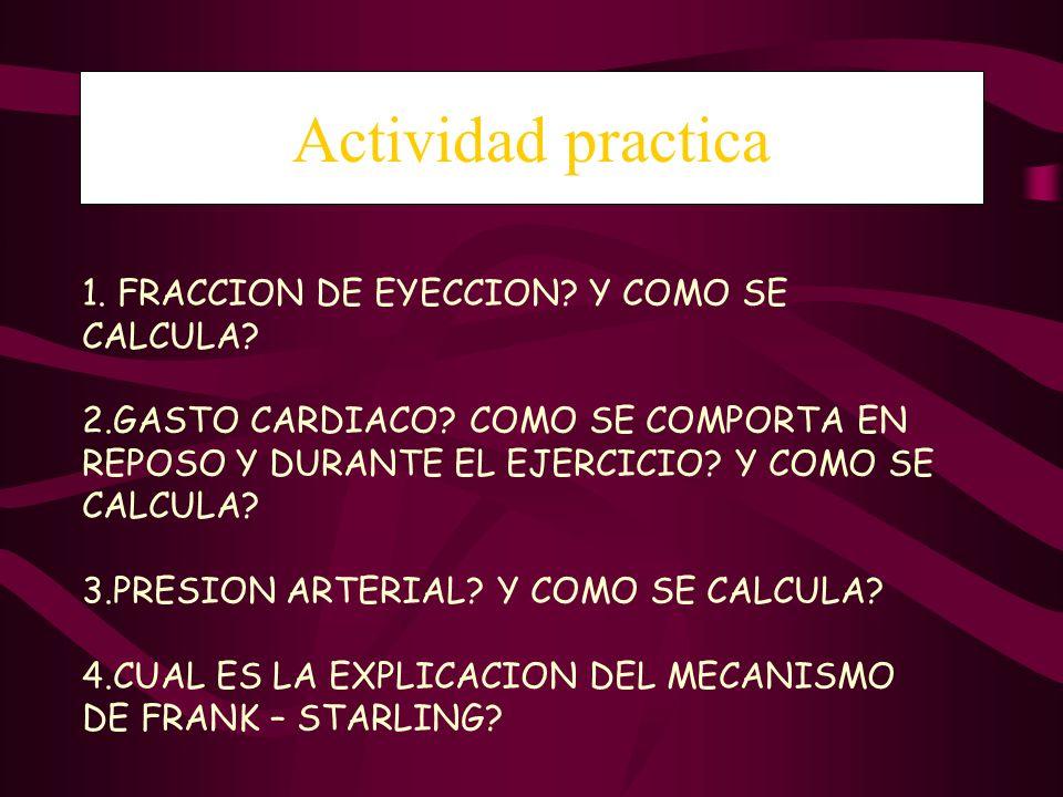 Actividad practica 1. FRACCION DE EYECCION Y COMO SE CALCULA