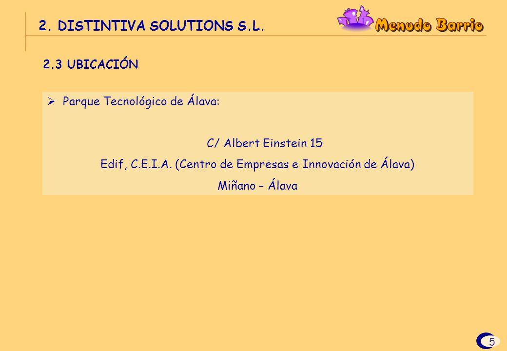 Edif, C.E.I.A. (Centro de Empresas e Innovación de Álava)