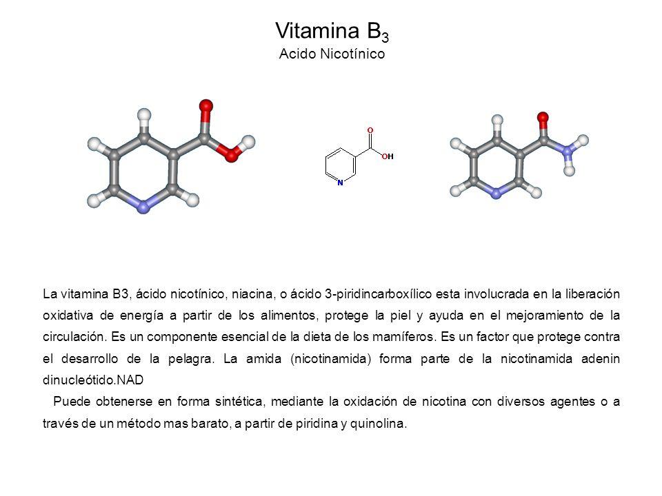 VITAMINAS Estructura Química