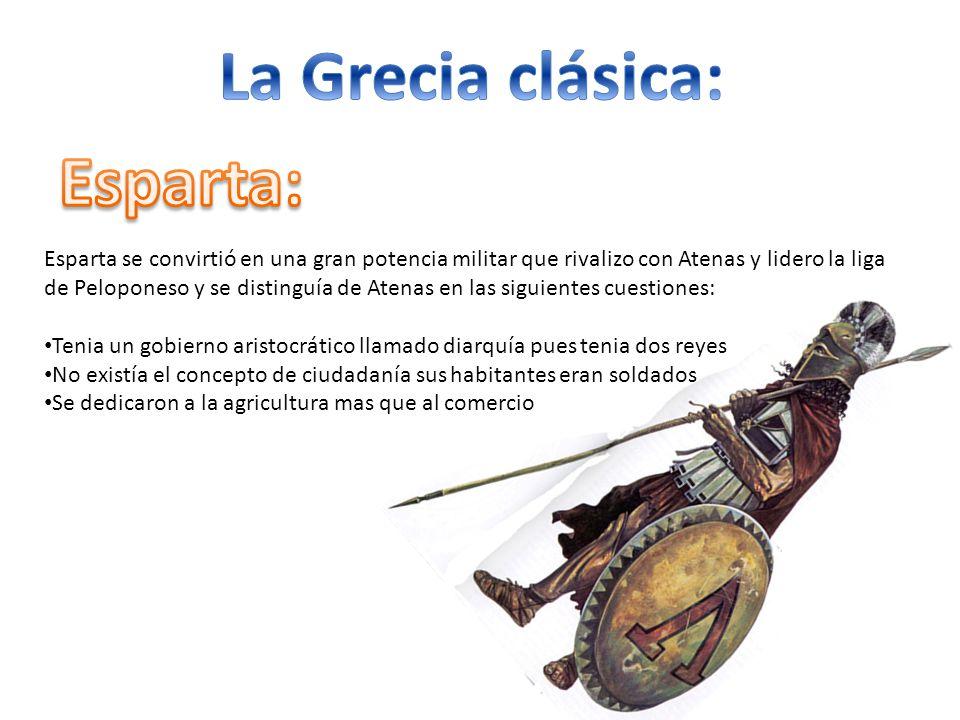 La Grecia clásica: Esparta: