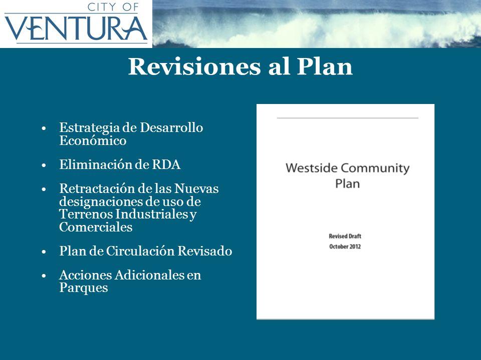 Revisiones al Plan Estrategia de Desarrollo Económico