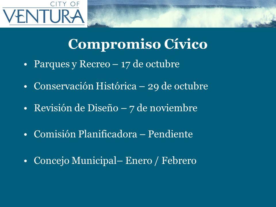 Compromiso Cívico Parques y Recreo – 17 de octubre